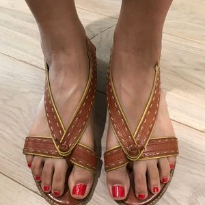 Marni leather thong sandals - 40